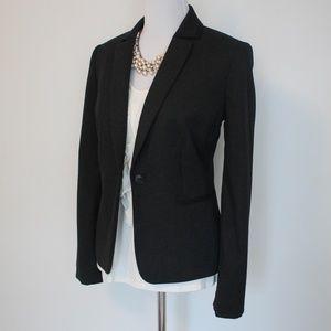 ANTONIO MELANI 8 Suit Jacket Blazer Charcoal Gray